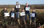 National NGO's representatives visit Combe Haven protest camp.