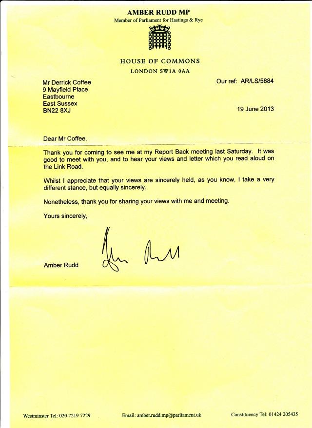 Amber Rudd Letter 6 13