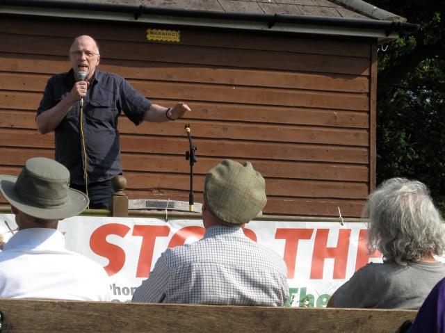 Veteran campaigner, John Stewart