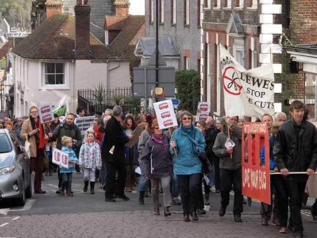 Lewes Demo 1